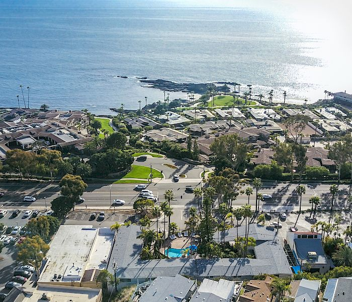 Romantic places in laguna beach